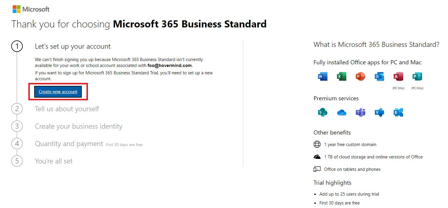 Get SharePoint Online and PowerBI Services Step 2